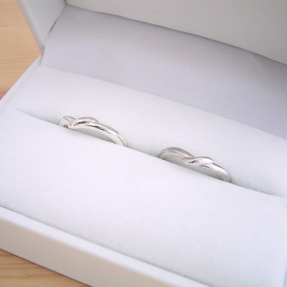 1万円 結婚指輪 ペアリング マリッジリング 甲丸リング 平打ちリング 2本セット シルバー ケース 磨き布 ラッピング袋 メッセージカード付き 送料無料