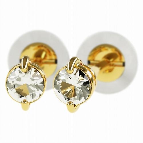 一粒 ダイヤモンド スタッドピアス 合計0.2ct 2本爪 K18ゴールド ピアス ジュエリー レディース かわいい 可愛い 華奢 おしゃれ 結婚 結婚式 ウェディング 誕生日 プレゼント 贈り物 送料無料