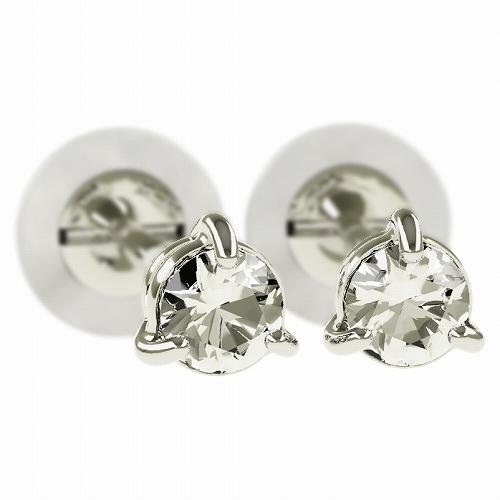 一粒 ダイヤモンド スタッドピアス 合計0.1ct 3本爪 プラチナ K18 K18ピンクゴールド ピアス ジュエリー レディース かわいい 可愛い 華奢 おしゃれ 結婚 結婚式 ウェディング 誕生日 プレゼント 贈り物 送料無料