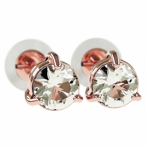 一粒 ダイヤモンド スタッドピアス 合計0.3ct 3本爪 プラチナ K18 K18ピンクゴールド ピアス ジュエリー レディース かわいい 可愛い 華奢 おしゃれ 結婚 結婚式 ウェディング 誕生日 プレゼント 贈り物 送料無料