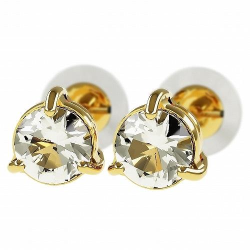 一粒 ダイヤモンド スタッドピアス 合計0.4ct 3本爪 プラチナ K18 K18ピンクゴールド ピアス ジュエリー レディース かわいい 可愛い 華奢 おしゃれ 結婚 結婚式 ウェディング 誕生日 プレゼント 贈り物 送料無料
