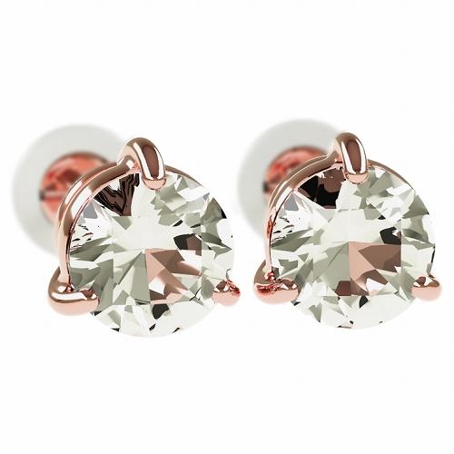 一粒 ダイヤモンド スタッドピアス 合計1.0ct 3本爪 プラチナ K18 K18ピンクゴールド ピアス ジュエリー レディース かわいい 可愛い 華奢 おしゃれ 結婚 結婚式 ウェディング 誕生日 プレゼント 贈り物 送料無料