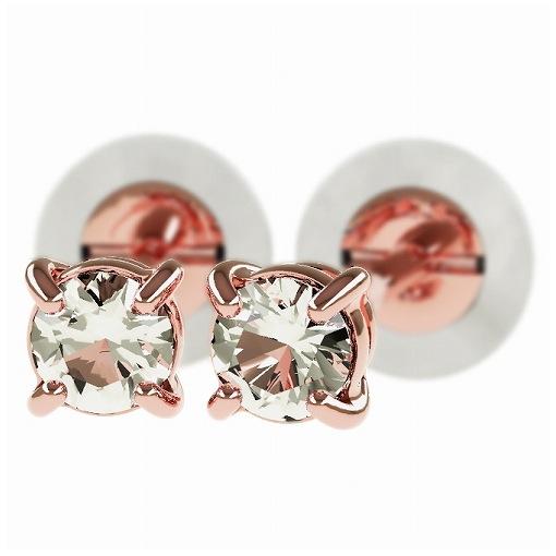 一粒 ダイヤモンド スタッドピアス 合計0.2ct 4本爪 プラチナ K18 K18ピンクゴールド ピアス ジュエリー レディース かわいい 可愛い 華奢 おしゃれ 結婚 結婚式 ウェディング 誕生日 プレゼント 贈り物 送料無料