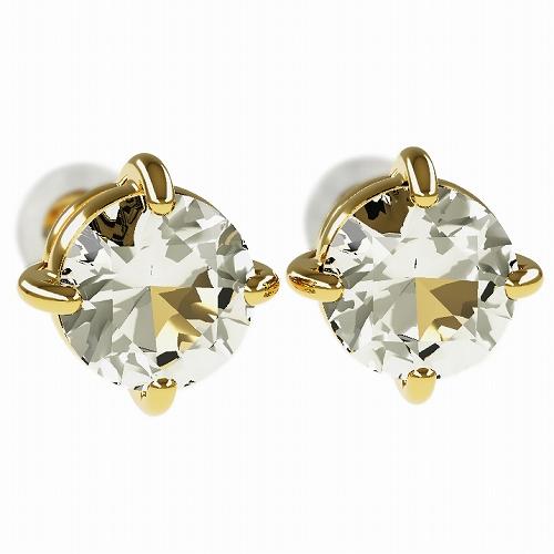一粒 ダイヤモンド スタッドピアス 合計2.0ct 4本爪 プラチナ K18 K18ピンクゴールド ピアス ジュエリー レディース かわいい 可愛い 華奢 おしゃれ 結婚 結婚式 ウェディング 誕生日 プレゼント 贈り物 送料無料