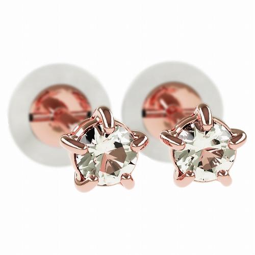 一粒 ダイヤモンド スタッドピアス 合計0.1ct 5本爪 プラチナ K18 K18ピンクゴールド ピアス ジュエリー レディース かわいい 可愛い 華奢 おしゃれ 結婚 結婚式 ウェディング 誕生日 プレゼント 贈り物 送料無料