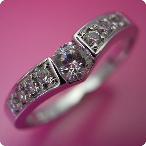 【婚約指輪】エンゲージリング【0.3ct】一粒【0.3カラット】ダイヤモンド【ブライダルジュエリー】プラチナ【結婚指輪】マリッジリング【本当はピンクダイヤモンドを入れて欲しい婚約指輪】Dカラー・VVS1クラス・Excellentカット・H&Q【宝石鑑定書付き】