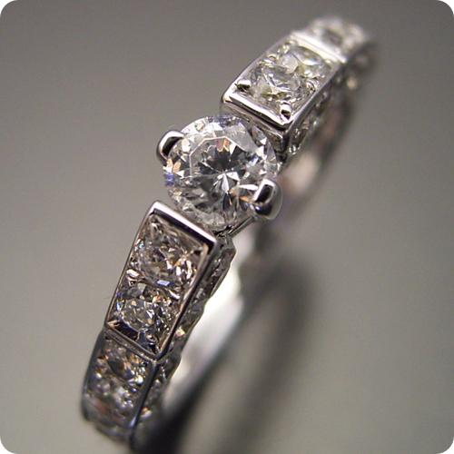 【婚約指輪】エンゲージリング【0.3ct】一粒【0.3カラット】ダイヤモンド【ブライダルジュエリー】プラチナ【結婚指輪】マリッジリング【細身で豪華な指が綺麗に見える婚約指輪】Dカラー・VVS1クラス・Excellentカット・H&Q【宝石鑑定書付き】