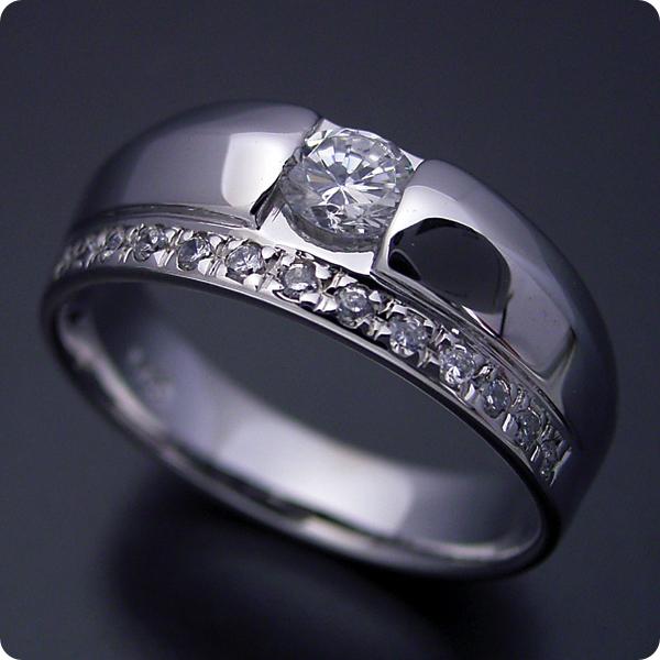【婚約指輪】エンゲージリング【0.3ct】一粒【0.3カラット】ダイヤモンド【ブライダルジュエリー】プラチナ【結婚指輪】マリッジリング【エタニティリングと組み合わせた婚約指輪】Dカラー・VVS1クラス・Excellentカット【宝石鑑定書付き】