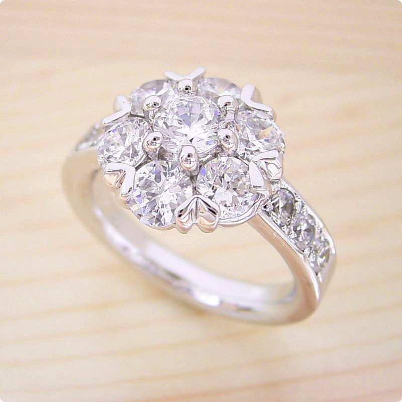 【婚約指輪】100万円【2ct】2カラット【エンゲージリング】ダイヤモンド【ブライダル】プロポーズ【史上最強の婚約指輪】プラチナ【宝石鑑別書付き】