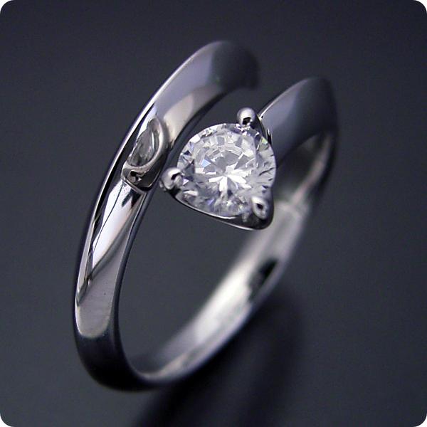 【婚約指輪】エンゲージリング【0.3ct】一粒【0.3カラット】ダイヤモンド【ブライダルジュエリー】プラチナ【結婚指輪】マリッジリング【スッキリとしてシンプルな婚約指輪】Dカラー・VVS1クラス・Excellentカット・H&Q【宝石鑑定書付き】