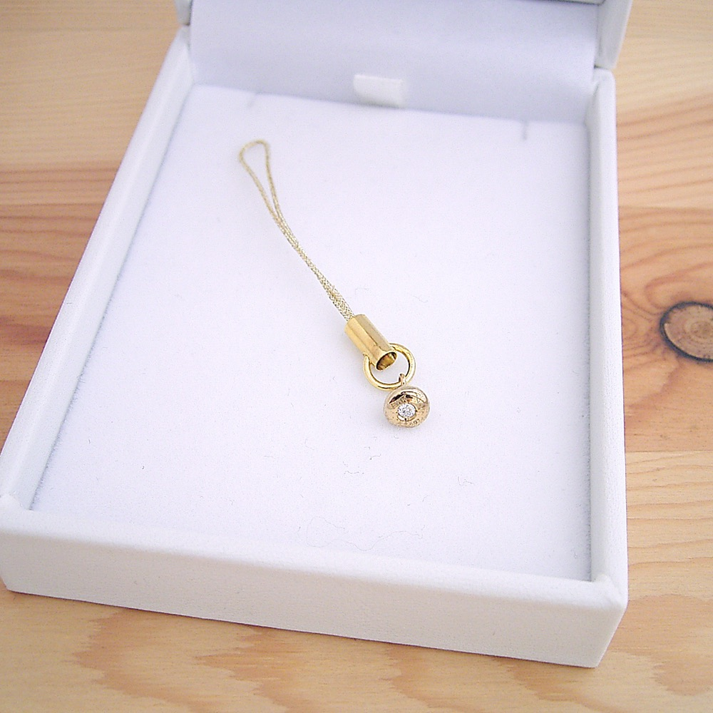 金のうんこ 18金 シルバー ゴールドメッキ ダイヤモンド ウンコ うんち ウンチ ストラップ プレゼント サプライズ 宝石屋