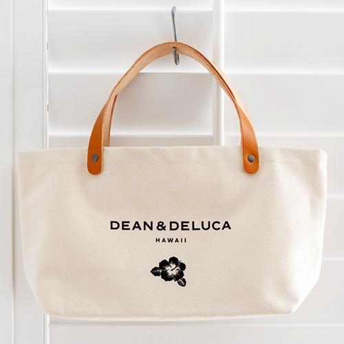 【送料無料】DEAN&DELUCA ハワイ限定 レザーハンドルトートバックS