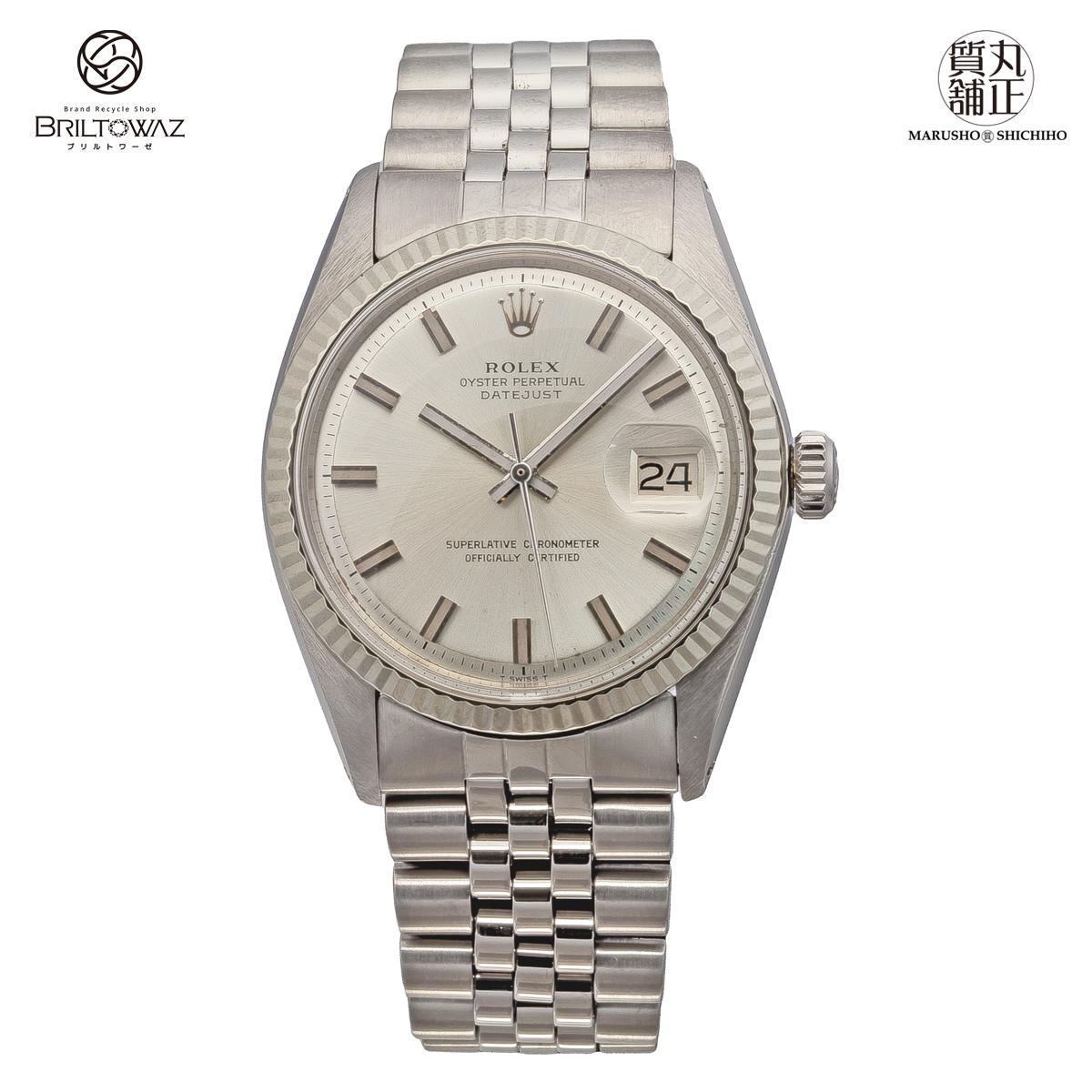 【送料無料】【あす楽】 ROLEX デイトジャスト Ref.1601 SS メンズ 腕時計 DATEJUST ロレックス メンズ USED【中古】【代引 無料】【ブリルトワーゼ】【丸正質舗】【質屋】(573561)