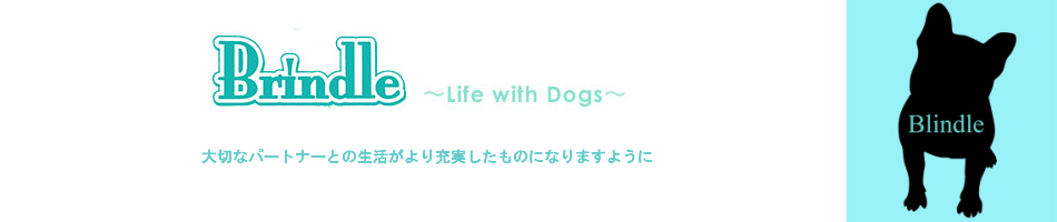 BRINDLE*Life with Dogs*:品質とデザインにこだわったものをセレクトして紹介しています。