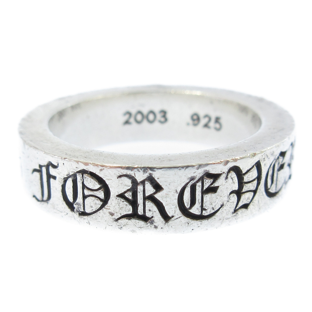 ≪3.19 New Arrival≫ CHROME HEARTS(クロムハーツ)6mm SPACER FOREVER 6mmスペーサーフォーエバーリング シルバー【中古】【程度AB】【カラーシルバー】【取扱店舗名古屋】
