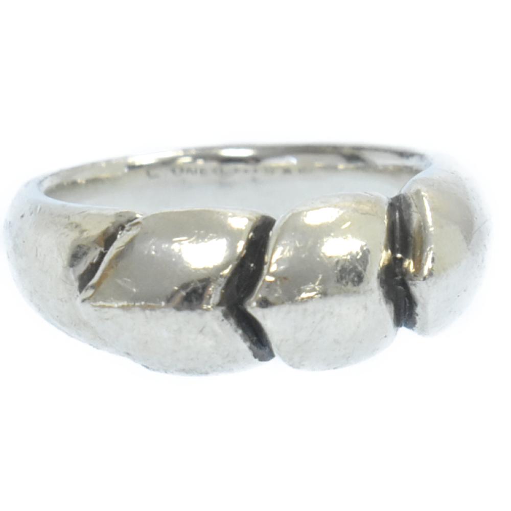 LONE ONES 品質保証 数量限定 ロンワンズ KF Ring カラーシルバー 程度AB キスアンドフローリング 取扱店舗渋谷 中古