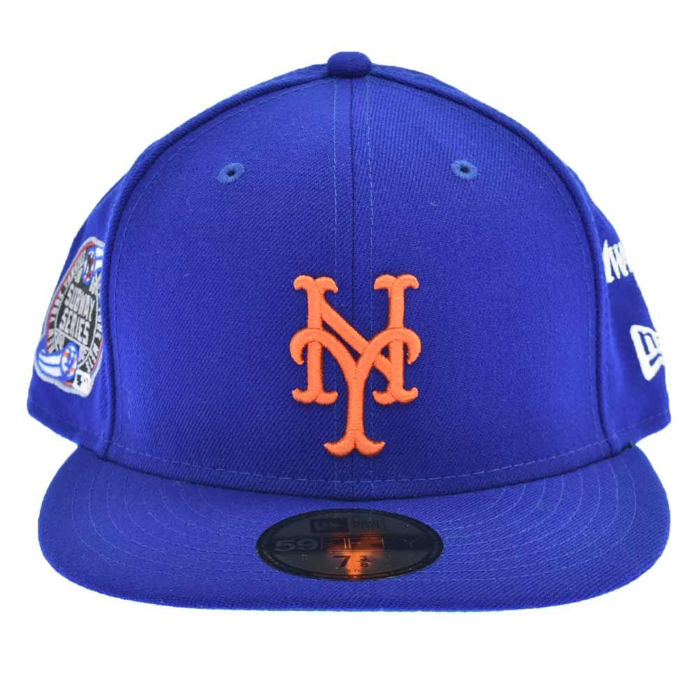 NEW ERA ニューエラ ×21ss AWAKE NY 59FIFTY New 全商品オープニング価格 York Mets ニューヨーク メッツ 中古 新古品 オンライン限定商品 アウェイク 入荷予定 程度S ブルー カラーブルー キャップ