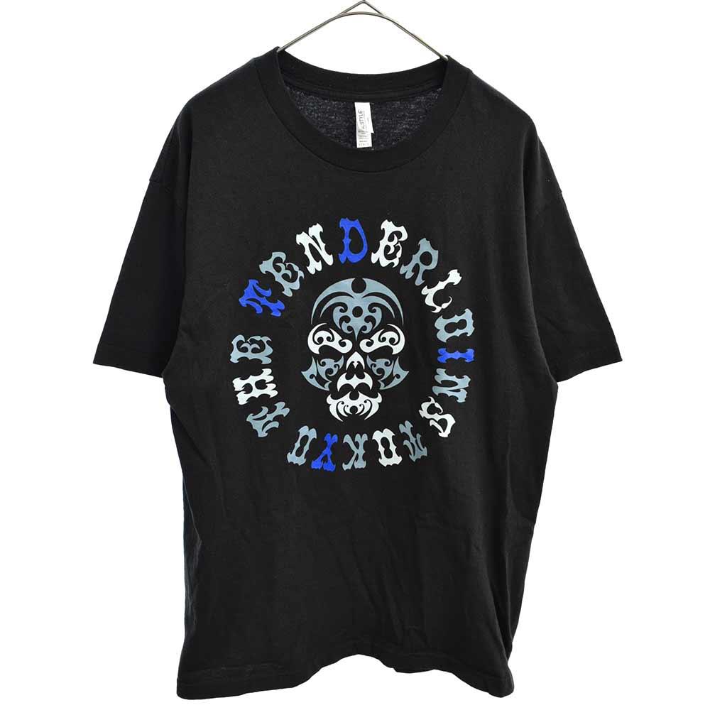 TENDERLOIN テンダーロイン 日本産 20SS 売店 TEE B.S D.I.Y.T ボルネオスカル ロゴプリント カラーブラック 中古 半袖Tシャツ オンライン限定商品 ブラック 程度A