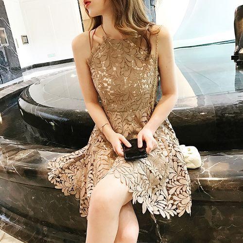 ワンピース ミディアム フォーマル 高級 欧米 セレブ 20代 きれいめ 返品送料無料 レディース 50代 お買い得 40代 S-XL カーキ ドレス 結婚式 パーティー 2次会 30代