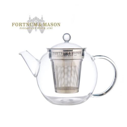 フォートナム&メイソン/Fortnum & Mason クラシック ガラスティーポット【紅茶2杯分】(ラッピング・熨斗を無料で承ります)