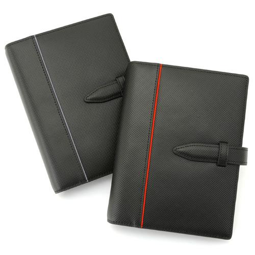 システム手帳 Carbon Split Leather(カーボンスプリットレザー) バイブルサイズ[高級本革][日本製]【楽ギフ_のし】