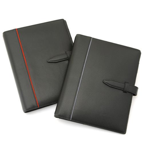 システム手帳 Carbon Split Leather(カーボンスプリットレザー) A5サイズ[高級本革][日本製]【楽ギフ_のし】