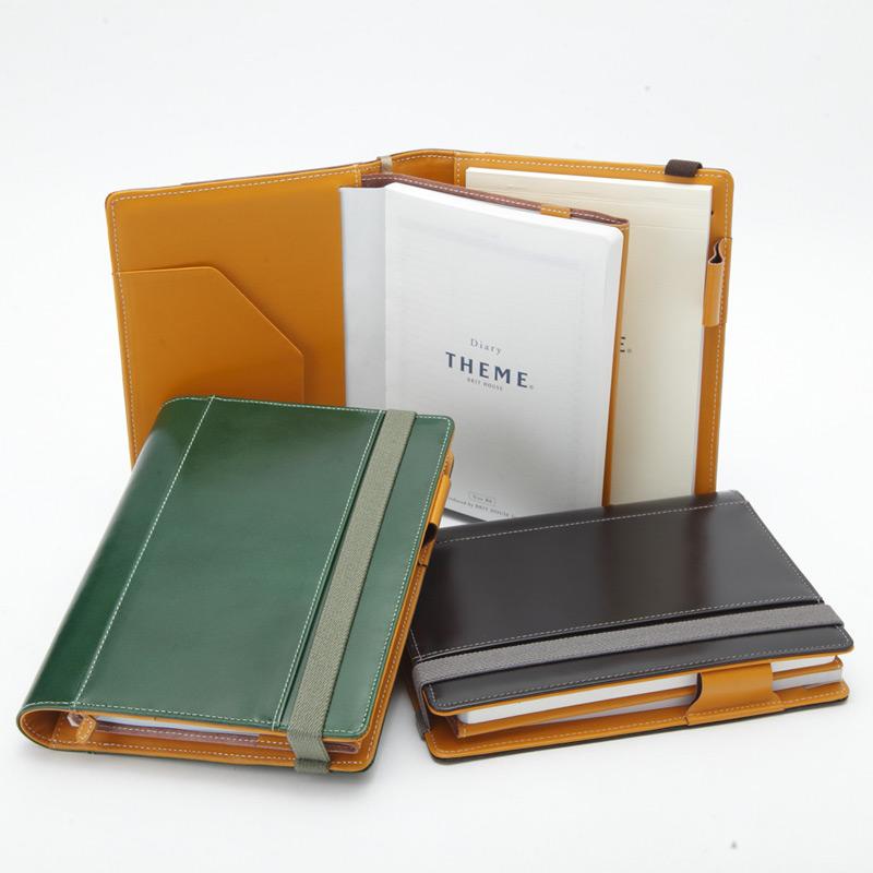 THEMEテーマ グレインレザー B6サイズ ビジネス手帳 [高級本革]【楽ギフ_のし】