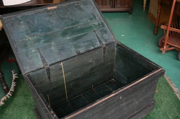 英国 イギリスアンティーク家具 パイン ブランケットボックス 1890年頃 英国製172-A