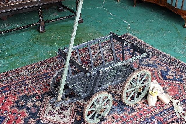 英国 イギリスアンティーク家具 ドック/カート 台車 1910年頃 英国製p49-2