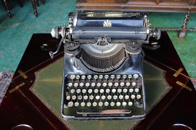 イギリスアンティーク タイプライター BAR-LOCK バーロック ディスプレイ インテリア 店舗什器  1930年頃 英国製h12-3