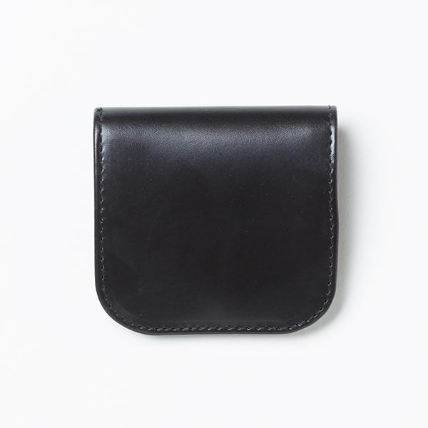 【グレンロイヤル】フラットコインケース [別注] (GLENROYAL ブランド 小銭入れ 本革 ブライドルレザー)
