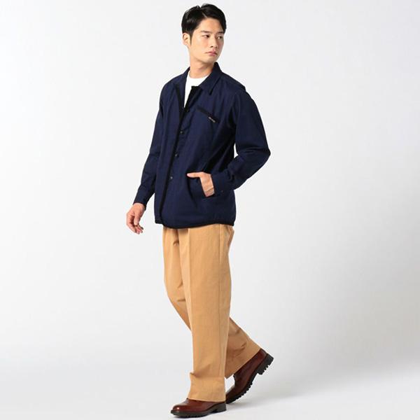 【ラベンハム】ワーカーシャツ(UNISEX)(LAVENHAM/メンズ レディース 春夏ジャケット ボックスシルエット オーバーシルエット アウター ユニセックス)