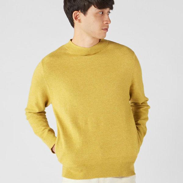 【SALE/セール】【マカラスター】[別注]モックネックセーター(MEN) 全4色 メンズ セーター ニット 秋冬 SMOCK SWEATER MACALASTAIR