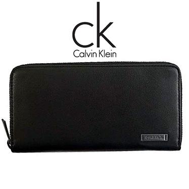 カルバンクライン 財布 Calvin Klein メンズ 長財布 ラウンドファスナー K50K502457 ブラック