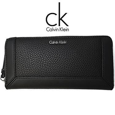 カルバンクライン 財布 Calvin Klein メンズ 長財布 ラウンドファスナー K60K602087 001 ブラック