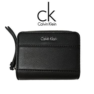 カルバンクライン 財布 Calvin Klein メンズ レディース 二つ折り財布 K60K602534 001 ブラック
