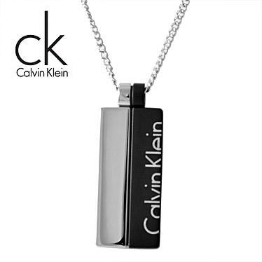 カルバンクライン ネックレス Calvin Klein プレート ペンダント BOOST BICO KJ5RBP210100 ステンレスネックレス