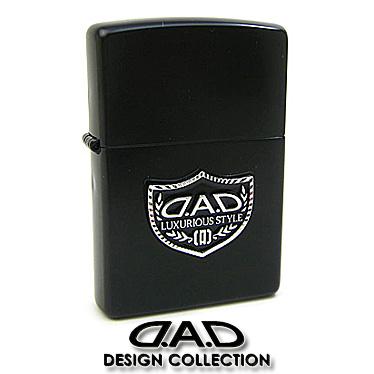 【ご予約品】 Zippo ジッポ ライター DAD デーアーデー ロゴ ジッポ ライター プレート 2003 ブラック ロゴ【楽ギフ_メッセ入力】, イージーブラインド:8982572a --- clftranspo.dominiotemporario.com