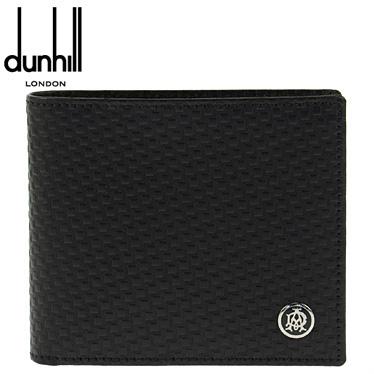 ダンヒル 財布 dunhill メンズ 二つ折り財布 マイクロディーエイト ブラック L2V332A 【楽ギフ_メッセ入力】