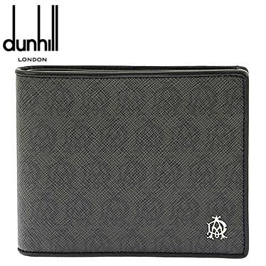 ダンヒル 財布 dunhill メンズ 二つ折り財布 WINDSOR グレー L2W732Z 【楽ギフ_メッセ入力】