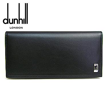 dunhill 財布 ダンヒル 長財布 サイドカー SIDE CAR QD1010 ブラック 【楽ギフ_メッセ入力】