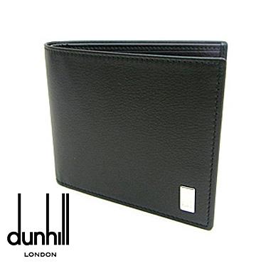 dunhill 財布 ダンヒル 二つ折り財布 サイドカー SIDE CAR QD3070 ブラック 【楽ギフ_メッセ入力】