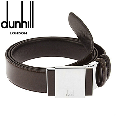 ダンヒル ベルト dunhill メンズベルト ブラウン/ブラック リバーシブル BPV224B 【楽ギフ_メッセ入力】