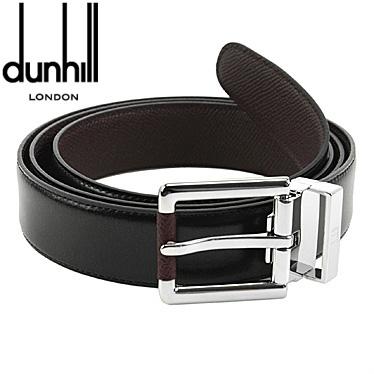 ダンヒル ベルト dunhill メンズベルト ブラック/ワイン リバーシブル HPV222A 【楽ギフ_メッセ入力】