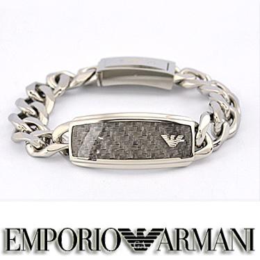 エンポリオ アルマーニ ブレスレット EMPORIO ARMANI EGS1688040 メンズ ステンレスアクセサリー