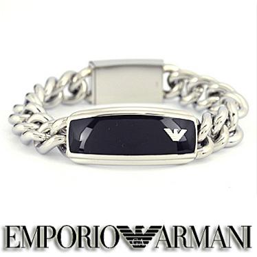 エンポリオ アルマーニ ブレスレット EMPORIO ARMANI EGS1729040 メンズ ステンレスアクセサリー 【楽ギフ_メッセ入力】