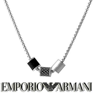 エンポリオ アルマーニ ネックレス EMPORIO ARMANI メンズ ペンダント EGS2383020 ステンレスネックレス