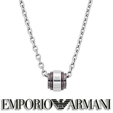 エンポリオ アルマーニ ネックレス EMPORIO ARMANI メンズ ペンダント EGS2467040 ステンレスネックレス