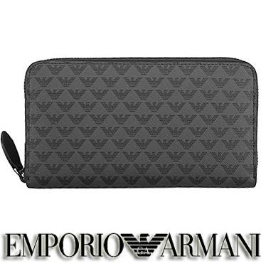 エンポリオ アルマーニ 財布 EMPORIO ARMANI メンズ 長財布 ラウンドファスナー Y4R063 YG91J 81072