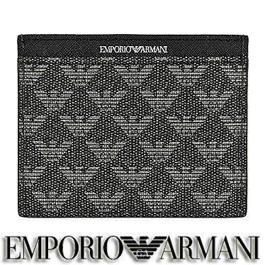 エンポリオ アルマーニ 名刺入れ EMPORIO ARMANI カードケース メンズ Y4R069 YO23J 86526